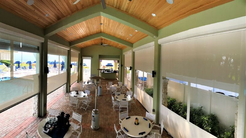 Progressive Screens - Commercial Country Club Product Application